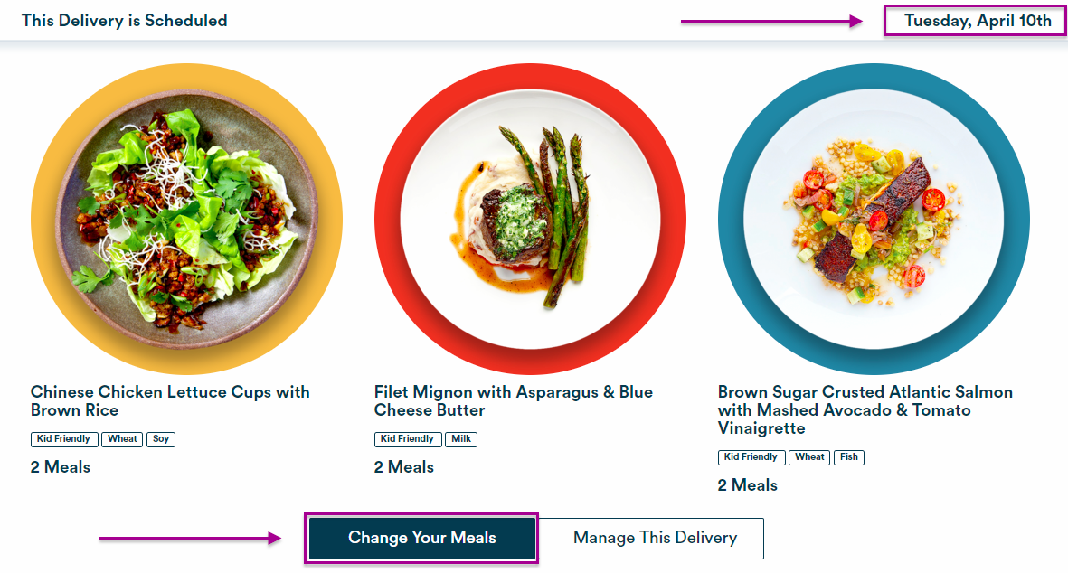 Can i choose my own meals gobble change mealseditg forumfinder Gallery